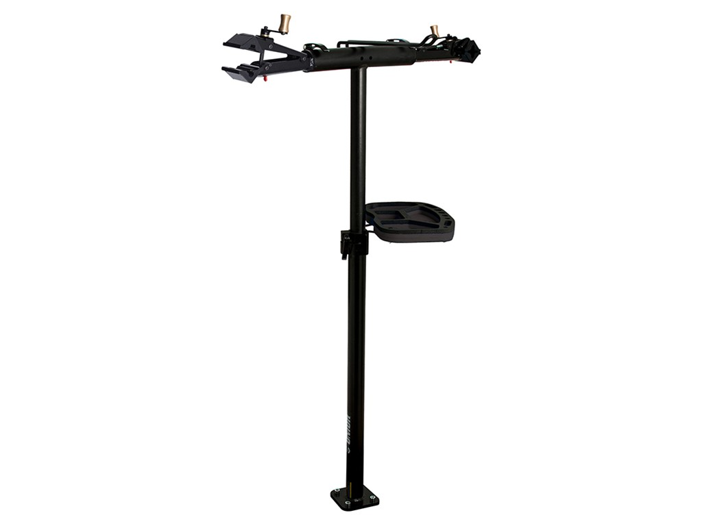 Unior Pro repair stand with double clamp