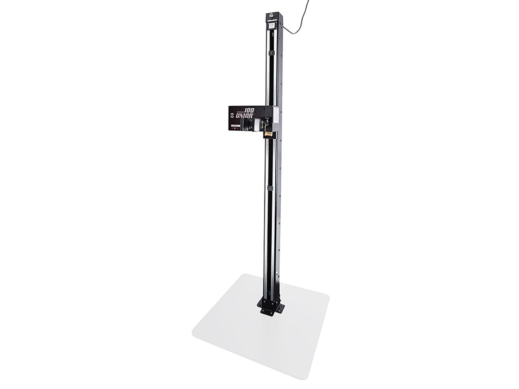 Unior Electric repair stand Input: 220 V; 50 Hz, Measurement: W750x750xH2072 mm, Load capacity: 40 kg, Weight approx.: 85 kg, quick release Pro Clamp (Ø22-Ø60 mm) - see pictures for more tech specs