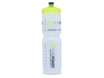 PUREPOWER Water bottle Power bottle 1000 ml Transparent