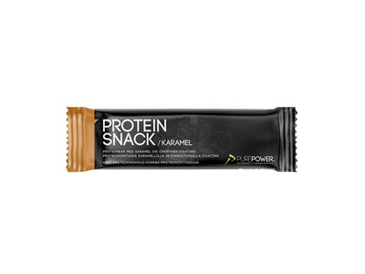 PUREPOWER Protein bar Caramel Chocolate coated