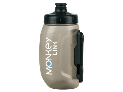SKS Water bottle Monkey Bottle 400 ml Transparent