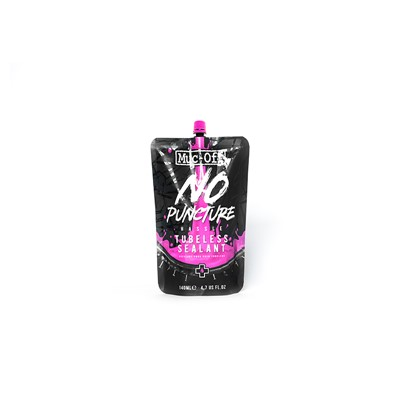 MUC-OFF No Puncture Hassle Tubeless Sealant Pouch Only 140 ml