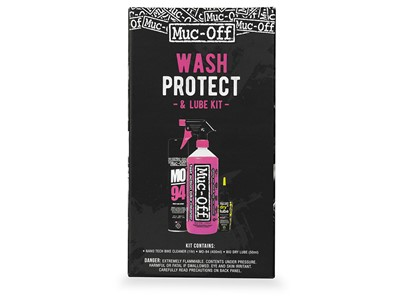 MUC-OFF Wash, Protect and Dry Lube Kit