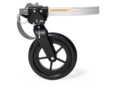 BURLEY 1-Wheel Stroller Kit Bike to strollàand stroll to bike with a simple flip of a wheel