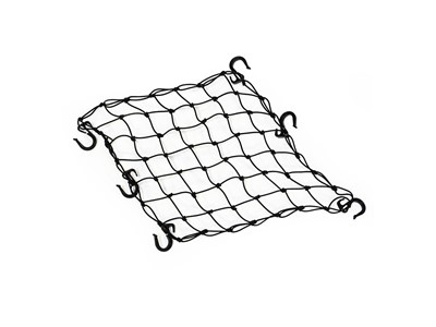 BURLEY Cargo Bungee Net Elastic net with adjustable hooks designed to fit Burley frame tubes