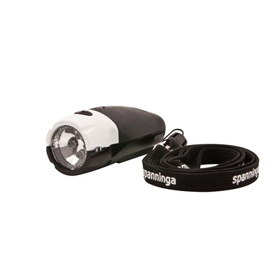 SPANNINGA Front light Goma Black/White