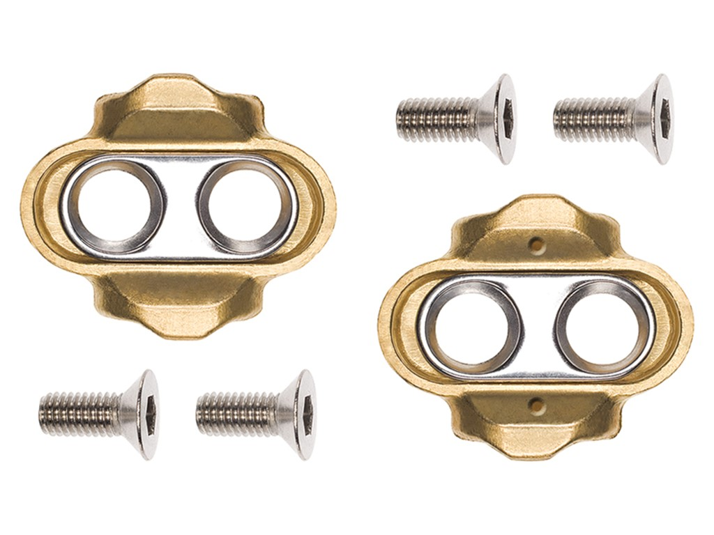 CRANKBROTHERS Cleat Standard Release (15° angle) Compatible with all Crankbrothers click pedals Float 6°