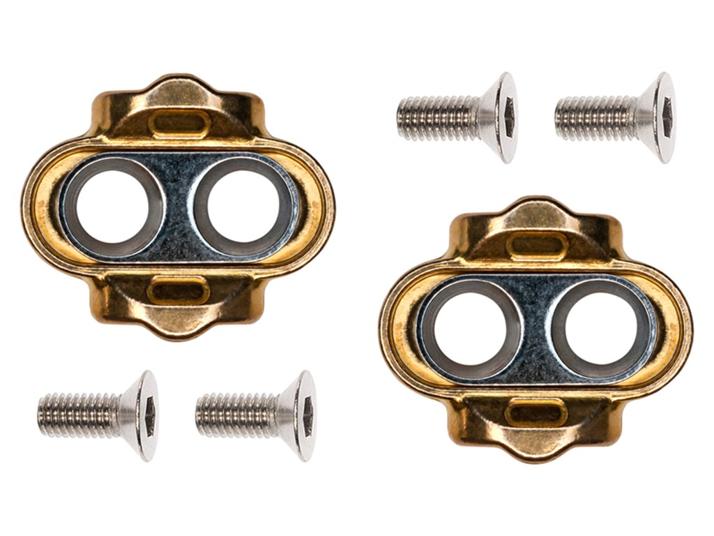 CRANKBROTHERS Cleat Standard Release (15° angle) Compatible with all Crankbrothers click pedals Float 0°
