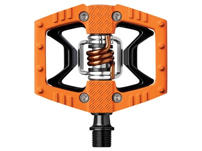 CRANKBROTHERS Pedal Double Shot Orange/Black/Silver