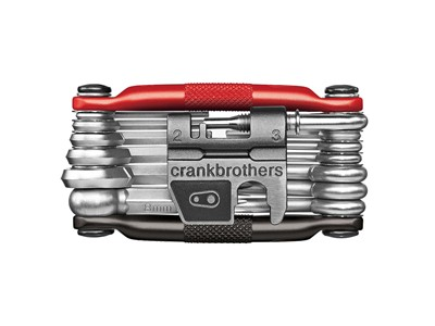 CRANKBROTHERS Multi-tool M19 Black/Red