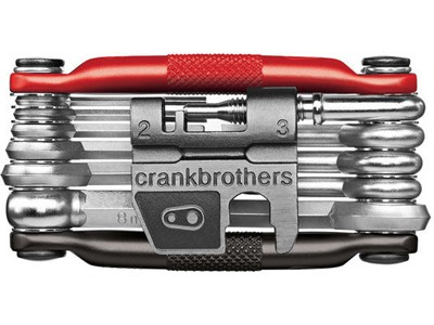 CRANKBROTHERS Multi-tool M17 Black/Red