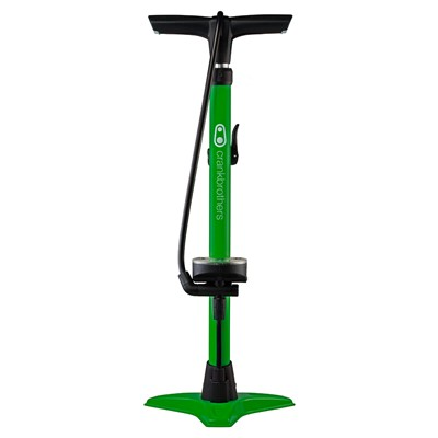 CRANKBROTHERS Floor pump Gem w/analog gauge 11 bar/160 psi Green