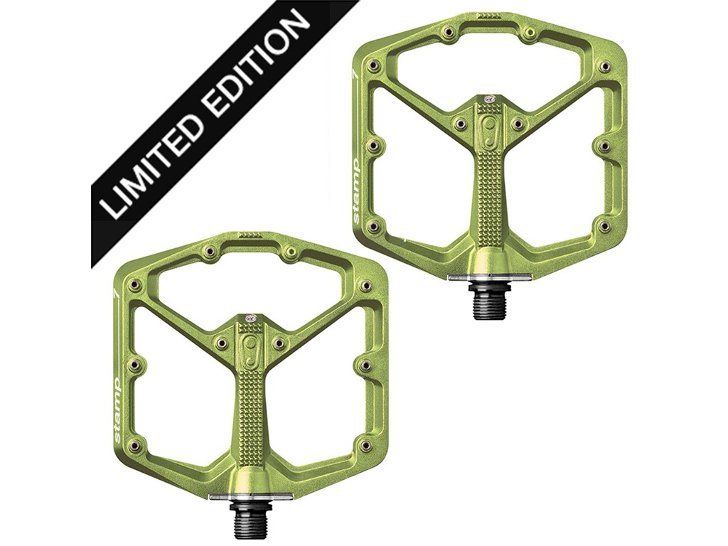 CRANKBROTHERS Pedal Stamp 7 Small Limited Edition Green