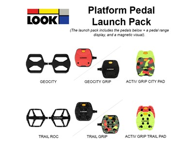 LOOK Launch Pack Look Platform Pedal Launch Pack
