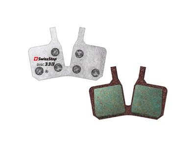 SWISSSTOP Disc brake pad Disc 33 E Magura MT 5, MT 7 Organic pad Steel plate Pack of 2 pads