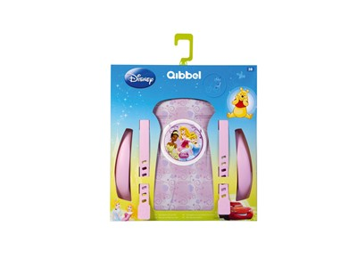 QIBBEL Child seat styling set Rear Special Princess dreams