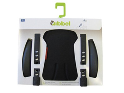 QIBBEL Child seat styling set Front Deluxe Uni black