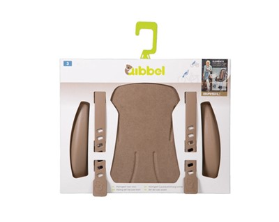 QIBBEL Child seat styling set Front Deluxe Faded brown