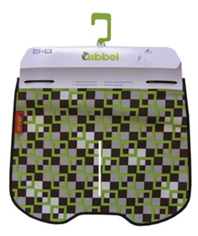 QIBBEL Windscreen styling set Checked green