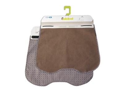 QIBBEL Windscreen styling set Faded brown, canvas elements